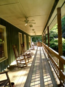 Retreat Village porch