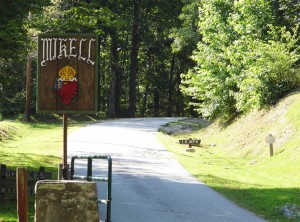 Camp Mikell Entrance